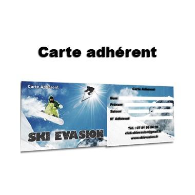 Carte adhérents